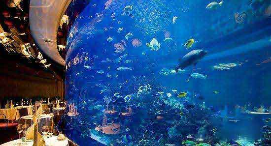 迪拜水下酒店